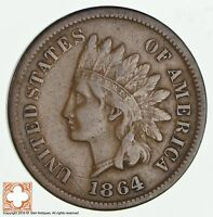 1864 L INDIAN HEAD CENT   BRONZE 1891