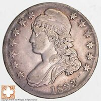 1833 CAPPED BUSTED HALF DOLLAR 6532