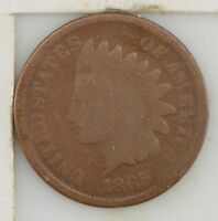 1865 INDIAN HEAD ONE CENT Z40