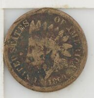 1860 INDIAN HEAD ONE CENT Z81