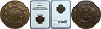 1872 TWO CENT PIECE NGC MINT STATE 62 BN