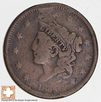 1836 MATRON HEAD LARGE CENT 7026