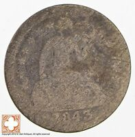 1843 SEATED LIBERTY SILVER DIME 3279