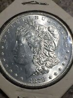 1878 MORGAN SILVER DOLLAR 7 TAIL FEATHER SECOND REVERSE