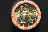 2000 MASSACHUSETTS BAY STATE QUARTERS UNCIRCULATED ORIGINAL BANK WRAPPED