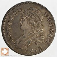 1812 CAPPED BUSTED HALF DOLLAR 8386