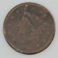 1829 MATRON HEAD LARGE CENT 718