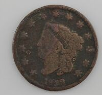 1829 MATRON HEAD LARGE CENT Z17