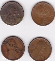 4-1913-S 1C  LINCOLN WHEAT CENTS, SEMI KEY DATE 3