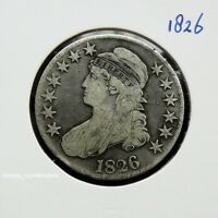 UNITED STATES   CAPPED BUST HALF DOLLAR 1826