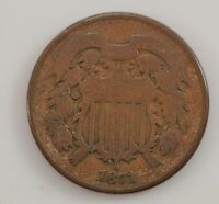 1871 TWO-CENT PIECE G20