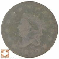 1830 MATRON HEAD LARGE CENT XB71