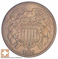 1865 TWO CENT PIECE YB33