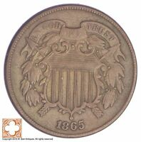 1865 TWO CENT PIECE YB78