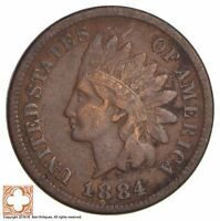1884 INDIAN HEAD CENT 284