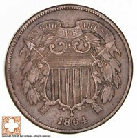 1864 TWO CENT PIECE 1739