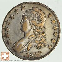 1830 CAPPED BUSTED HALF DOLLAR 2807