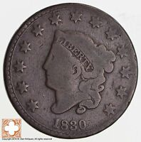 1830 MATRON HEAD LARGE CENT N.10 R4 2500