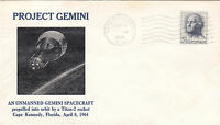 1964 GEMINI 1 LAUNCH; CC 4/8 - TOUGH COVER