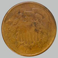 1868 SHIELD TWO CENTS