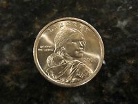 BR UNCIRCULATED 2000 D FIRST YEAR OF ISSUE NATIVE AMERICAN SACAGAWEA DOLLAR