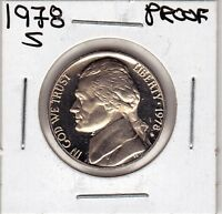 1978 S  JEFFERSON NICKEL IN PROOF CONDITION