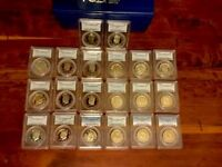 KENNEDY'S 40 DCAM PR69 1976 S THROUGH 2013  S. WITH PCGS BOXES