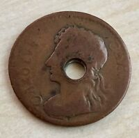 1676 IMPOSSIBLE DATE CHARLES II COPPER FARTHING   UNIQUE A115