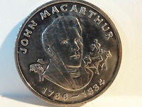 AUSTRALIA   A BICENTENNIAL MEDAL COLLECTION   'JOHN MACARTHUR 1766   1834'