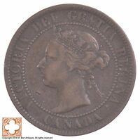 1897 CANADA ONE CENT QUEEN VICTORIA 6688