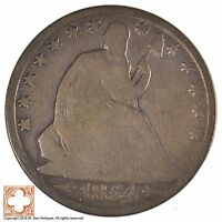 1854 O SEATED LIBERTY HALF DOLLAR WITH ARROWS AT DATE J26
