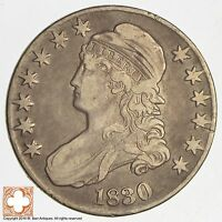 1830 CAPPED BUSTED HALF DOLLAR 8384