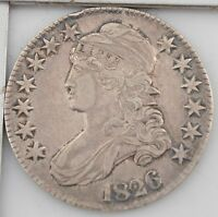 1826 CAPPED BUST HALF DOLLAR Z15