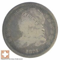 1831 CAPPED BUST DIME XB48