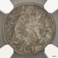 1841-O SEATED LIBERTY SILVER HALF DIME H10C NGC VF DETAILS