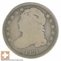 1831 CAPPED BUST DIME XB15