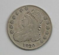 1830 CAPPED BUST HALF DOLLAR G18