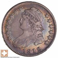 1812 CAPPED BUST HALF DOLLAR 3010