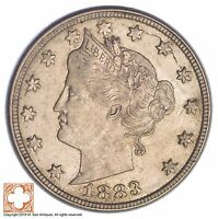 1883 LIBERTY V NICKEL   WITHOUT CENTS XB48