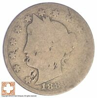 1883 LIBERTY V NICKEL   WITH CENTS XB96
