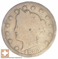1883 LIBERTY V NICKEL   WITH CENTS XB84