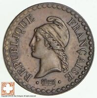 1849 A FRANCE 1 CENTIME 0347