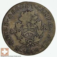1849 ARGENTINA 4 REALES 8767