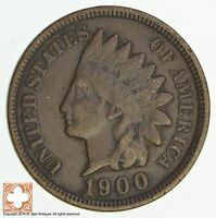 1900 INDIAN HEAD CENT 4555