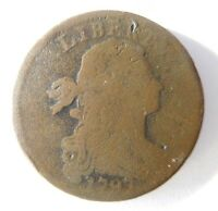 1797 DRAPED BUST CENT S-143 R-5
