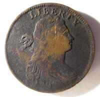 1797 DRAPED BUST CENT S-132 R-5
