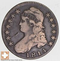 1814 CAPPED BUSTED HALF DOLLAR 6531