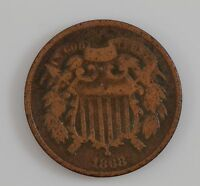 1868 TWO-CENT PIECE G40