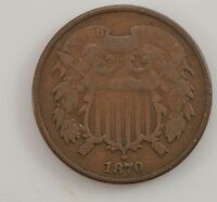 1870 TWO-CENT PIECE G02