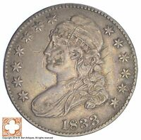 1833 CAPPED BUSTED HALF DOLLAR XB12
